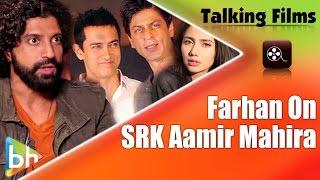 Farhan BREAKS SILENCE On Shah Rukh Khan | Aamir Khan | Mahira Khan | Raees