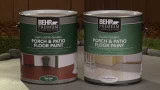 How-To: Apply Behr Premium Porch & Patio Floor Paint
