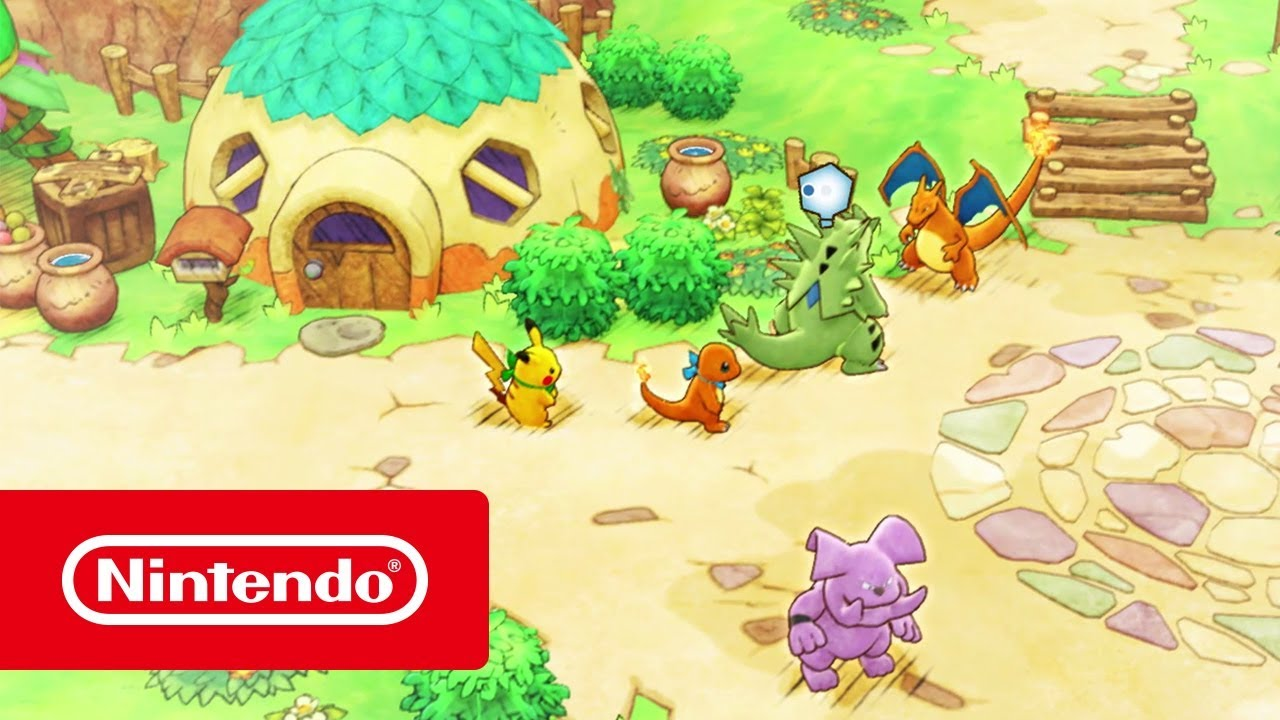 Gameplay trailer για το Pokémon Mystery Dungeon: Rescue Team DX!