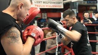 Francisco Santana's FULL BROOKLYN WORKOUT ahead of Jarrett Hurd fight l PBC on Showtime