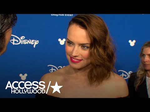 Download Youtube: Daisy Ridley Talks Fan Reaction To 'Star Wars: VIII The Last Jedi' BTS Footage At D23