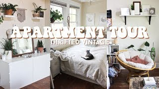 Fully Thrifted Vintage Apartment Tour