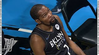 Kevin Durant Angry When He Was Asked to Leave the Court - Raptors vs Nets | February 5, 2021
