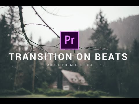 How to add TRANSITION on beats in Adobe Premiere Pro CC // Strobe Effect