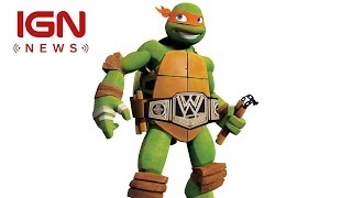 wwe tmnt team up for new action figures ign news