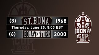 2020 Bona Cup Second Round: #3 1968 vs. #6 2000