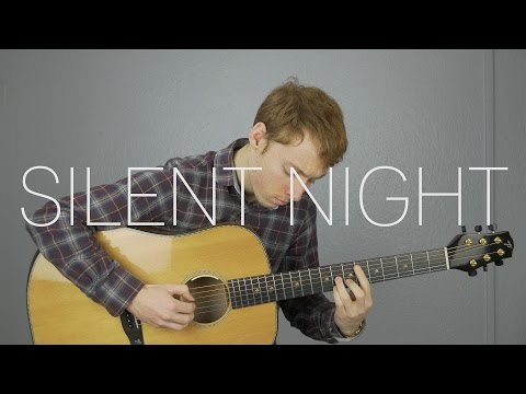 Silent Night - Fingerstyle Guitar Cover - Free Tabs