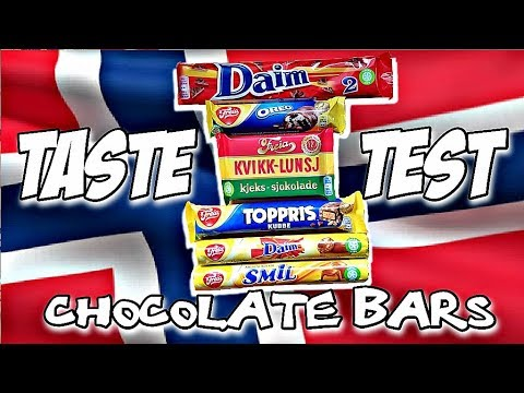 NORWEGIAN CHOCOLATE TASTE TEST | What about Freia Chocolate? Part 2