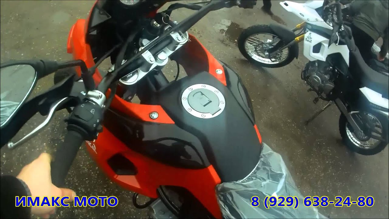 Кроссовые мотоциклы TTR 110 и TTR 125 - YouTube