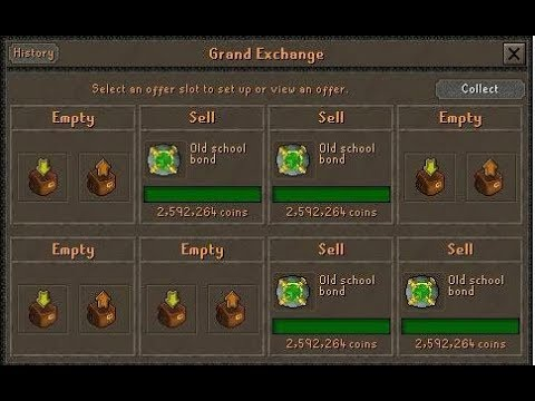 Runescape buy bonds