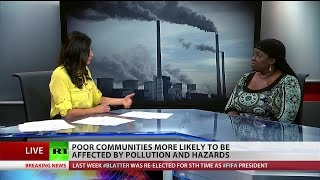 Environmental Racism: Black communities face more health risks from industrial pollution