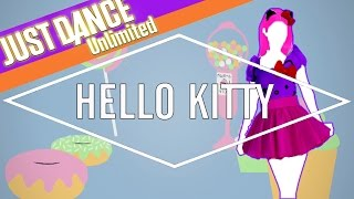 just dance unlimited hello kitty by avril lavigne fanmade mashup