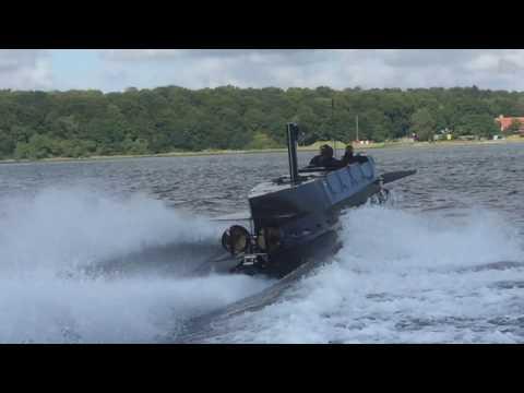 JFD SEAL Carrier Baltic Sea Trial