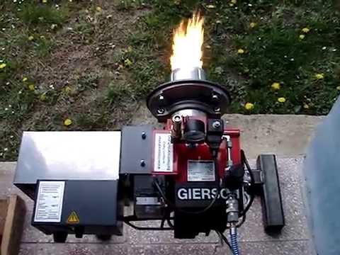 Giersch Gu20 Universal Waste Oil Burner Youtube
