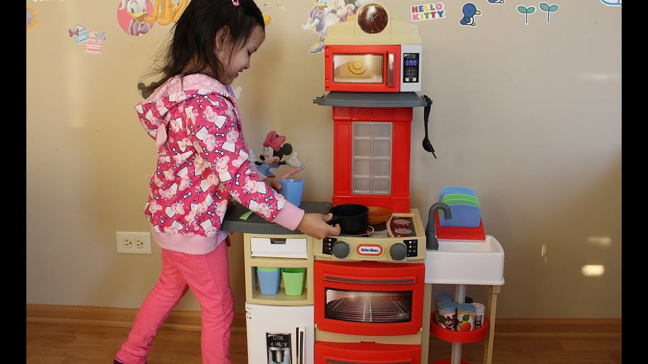 Little Tikes Cook N Store Kitchen Kitchen Toys For