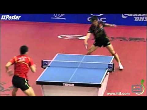 Slovenian Open 2012: Zhang Jike-Ma Long