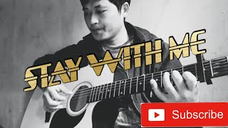 Chanyeol (EXO) & Punch- Stay With Me | Fingerstyle Guitar Cover