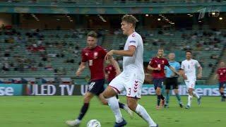 Сборные Италии Испании Англии и Дании вышли в полуфинал Евро 2020