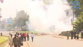 Police use tear gas to disperse Sonko supporters