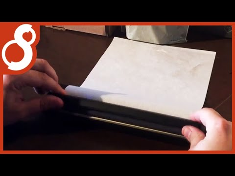 How To Prepare Your Thermal Paper For The S8 Stencil Printer