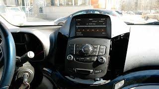 Chevrolet Orlando установка головного устройства MyDean 3155
