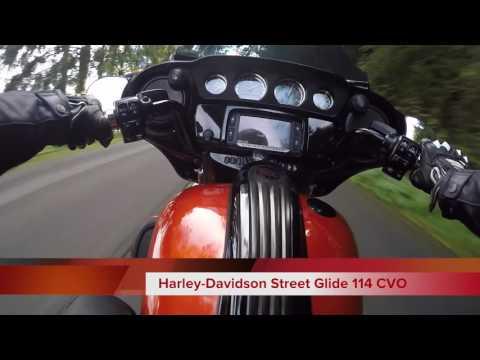 Harley-Davidson Street Glide 114 CVO : elle décoiffe !