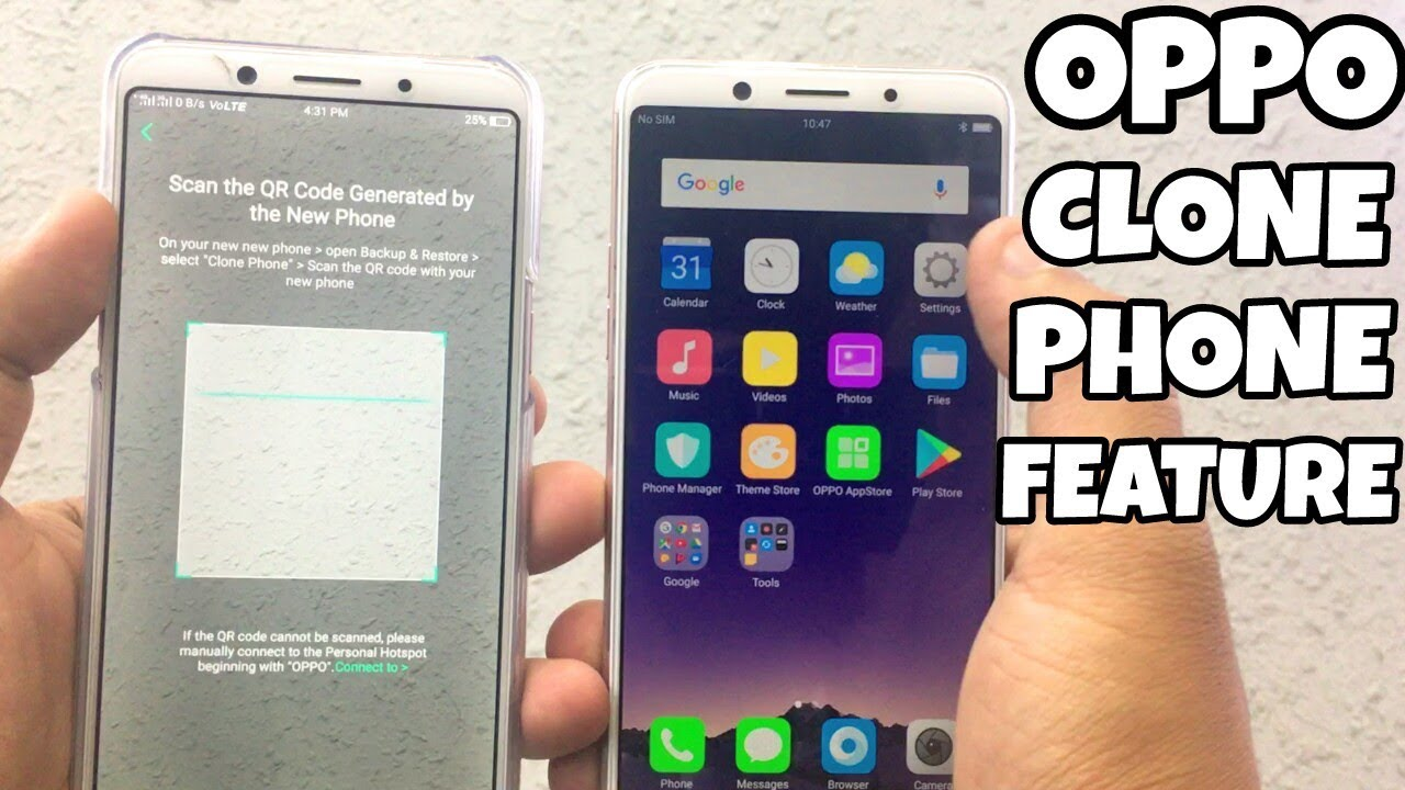 Oppo Clone Phone Feature | Oppo Clone Old to New Phone By Technology Master