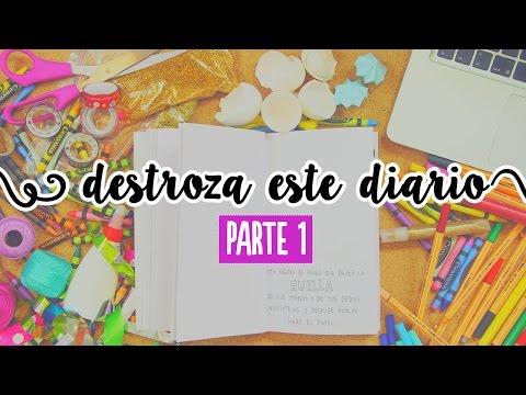 Destroza este diario (parte 1: Inspiración) ✄ Craftingeek