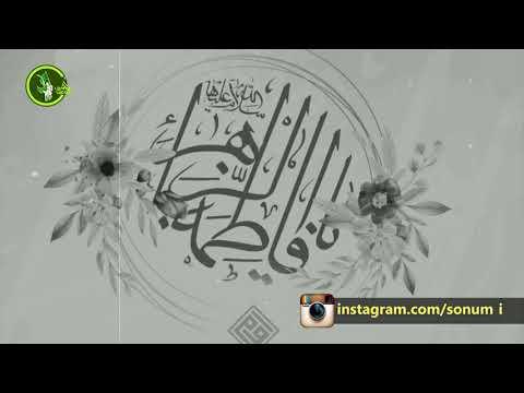 Xanım Fatmeyi-Zəhra (s.ə)-nın qısa olaraq həyatı