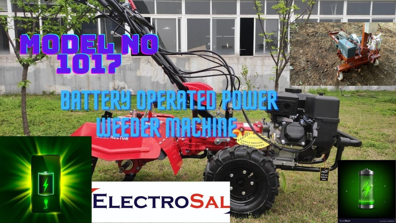 Download Battery Operated Power Weeder Machine