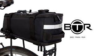BTR Deluxe Waterproof Rear Rack Pannier Bike Bag