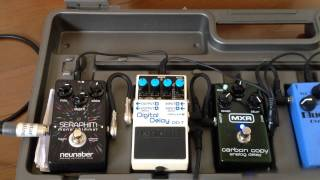 Digital vs. Analog Delay - Boss DD7 & MXR Carbon Copy