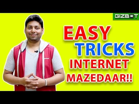 Free Internet tricks everyone should know - GIZBOT HINDI
