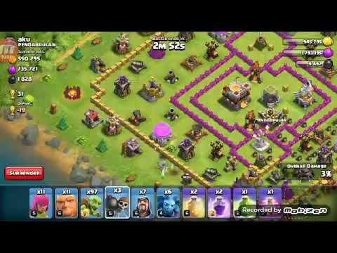 clash of clans best loot army with low cost