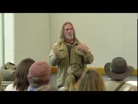 Seminar by Dave Canterbury at the 2015 NPS Expo in Louisville, Kentucky