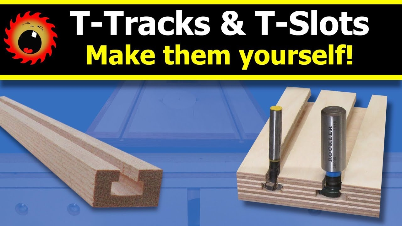 photo regarding Printable Router Bit Profile Chart referred to as Crank out your particular T-Music and T-Slots!