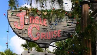 360º Ride on Jingle Cruise at Magic Kingdom