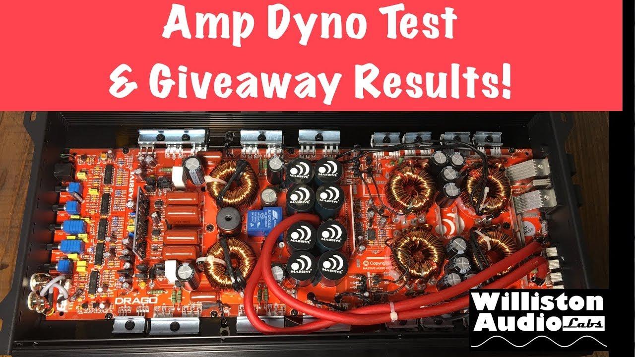 D6K - 3,000 Watts RMS @ 1 Ohm Mono Mega Amplifier