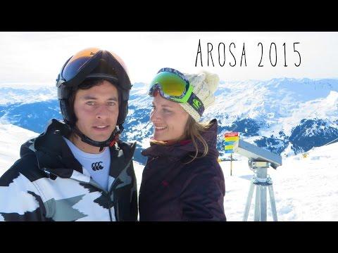 MyTravelBoektje Arosa Zwitserland - Wintersport video