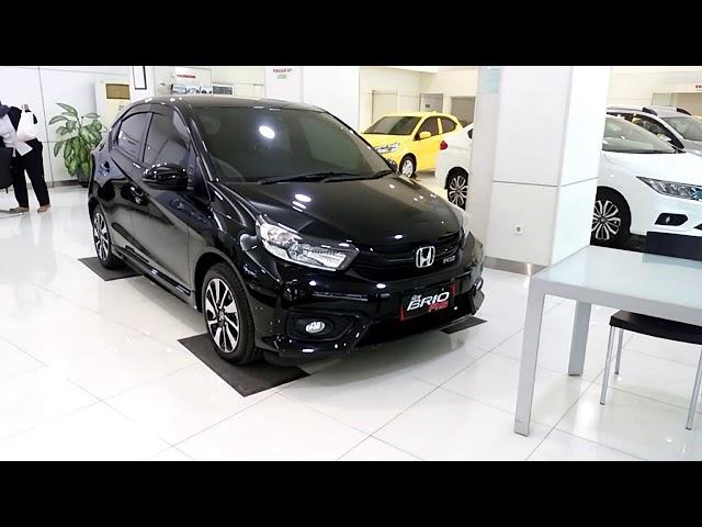 Keren...! All New Brio RS CVT Hitam/Black 2018