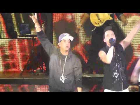 Prince Royce ft.Daddy Yankee - Ven conmigo-Auditorio Nacional 4 de abril 2014