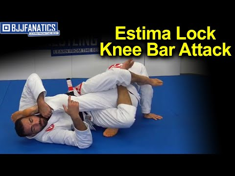 BJJ Moves - Estima Lock - Knee Bar Attack by Braulio Estima