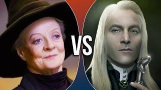 VS | Minerva McGonagall vs Lucius Malfoy