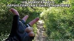 Un monde en vélo depuis Conflans-Sainte-Honorine