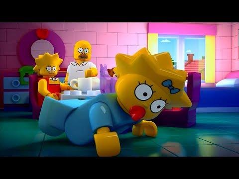 Мультфильм lego simpsons