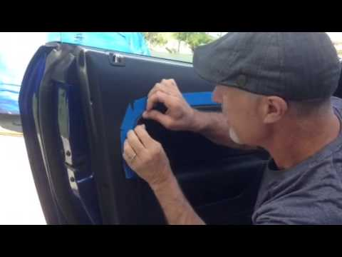 2005 09 Mustang Door Panel Repair Youtube