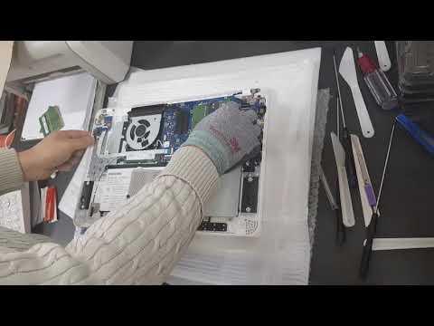 NT550EBZ-AD3A SSD 장착 영상