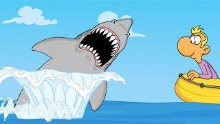 Ruthe Cartoons - Sharks!