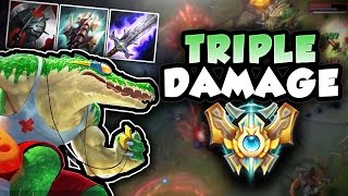 ON MY WAY TO CHALLENGER! THE BEST RENEKTON BUILD TO CLIMB THROUGH ELO - League of Legends Gameplay