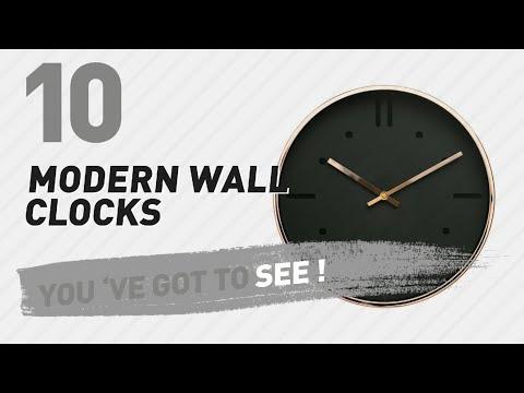 Modern Wall Clocks // New & Popular 2017